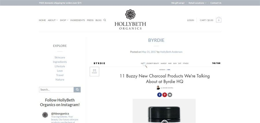 HollyBeth Organics Blog