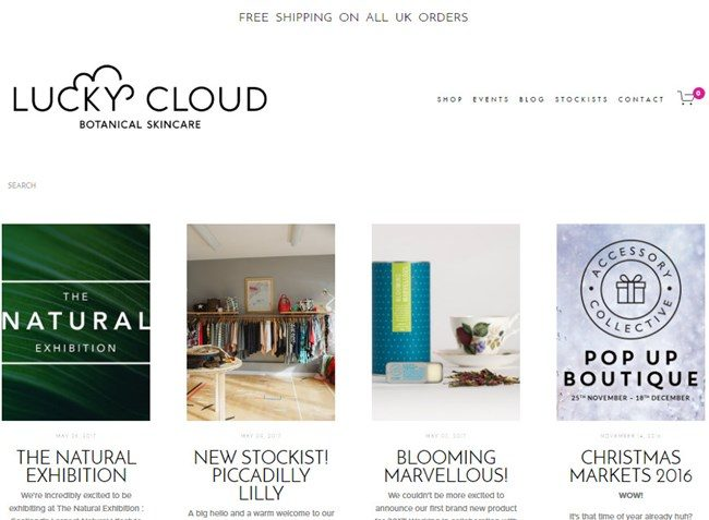 Lucky Cloud Botanical Skincare Blog